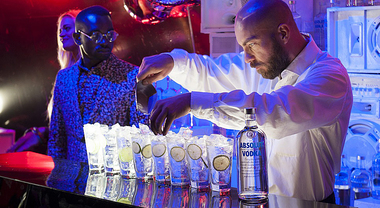 Le #AbsolutNights tra vodka e deejay