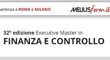 Meliusform, Executive Master in Finanza e Controllo
