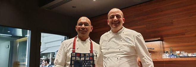Il Giappone incontra la Sicilia: super cena a quattro mani con gli chef Wicky Pryian e Pino Cuttaia