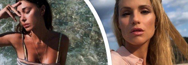 """Michelle Hunziker torna a """"Striscia la Notizia"""" e confida: «Belen è agitata, io sono noiosissima»"""