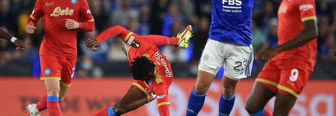 Le pagelle di Leicester-Napoli 2-2: Osimhen da urlo, Koulibaly non molla mai. In ritardo Lozano