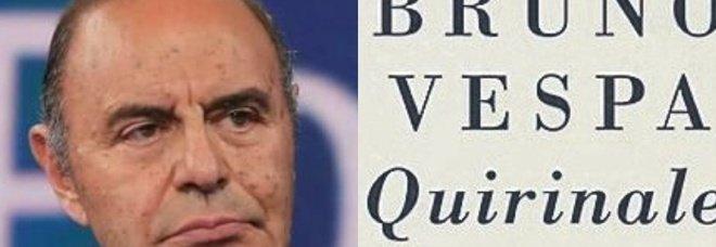 Il libro di Bruno Vespa: il Quirinale senza segreti con i racconti dei 12 presidenti