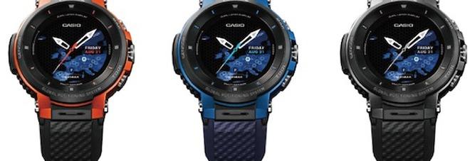 c224576f31ce Casio presenta Pro Trek Smart WSD-F30  fino a tre giorni senza ricarica