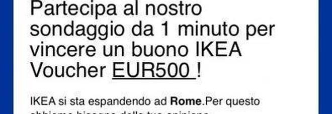 Buono ikea da 500 euro il messaggio truffa su whatsapp news - Ikea offre 500 euros ...