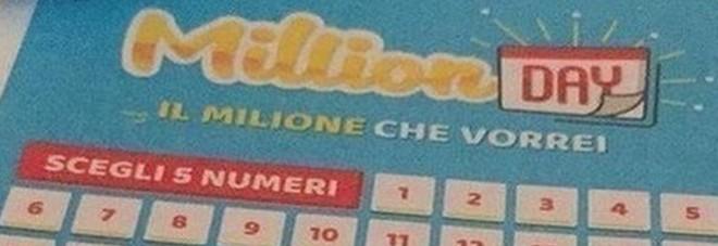 Million Day, i cinque numeri vincenti di domenica 23 febbraio 2020