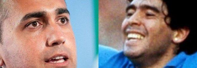 Di Maio su Leggo: «Maradona era la fiaba di noi bambini. Io e quello scudetto a 4 anni: Diego ha riscattato Napoli»