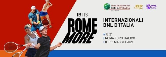 Internazionali d'Italia, ok al pubblico dagli ottavi: gare anticipate e 25% di spettatori