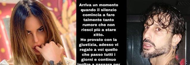 Nina Moric, audio choc della telefonata: «Minacce da Fabrizio Corona, voglio fracassarti la testa». Anche Carlos teme il padre