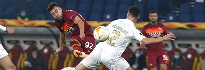 Roma-Braga 3-1: giallorossi agli ottavi. E Dzeko è nella storia