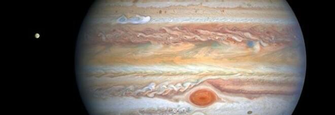 Una tempesta più grande della nostra Terra: la foto incredibile pubblicata dalla NASA