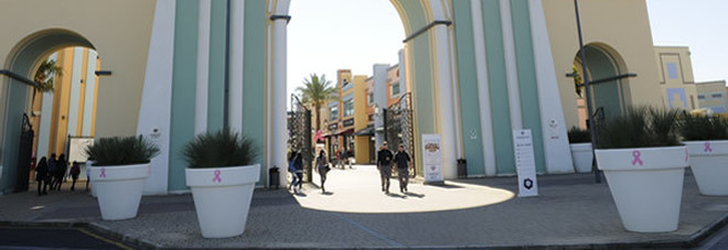 Valmontone outlet, l'estate va in scena