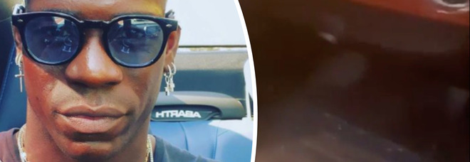 Mario Balotelli, la sua auto distrutta dai vandali. E promette vendetta: «Chiunque tu sia, prega tanto»