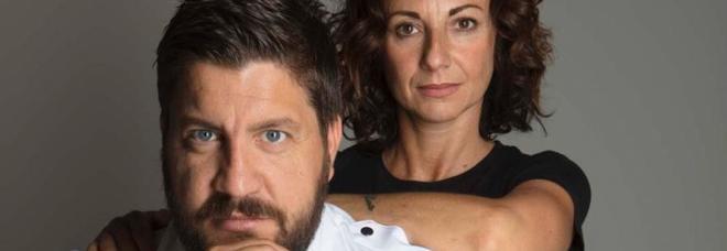 """Fabrizio e Laura creavano divise per il food, ora producono le mascherine """"Crown"""": «La nuova vita del Made in Italy»"""