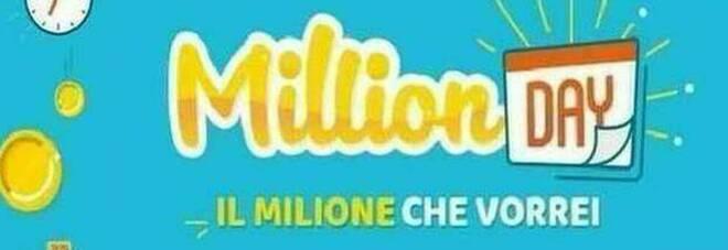 Million Day, diretta numeri vincenti di martedì 19 gennaio 2021