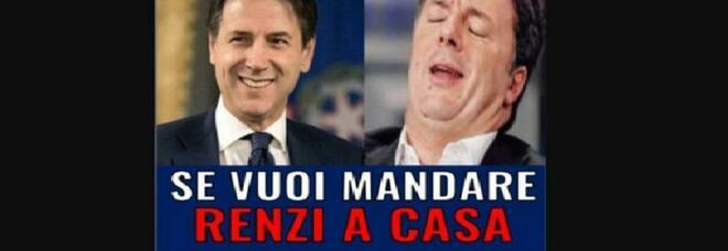Conte e la story su Facebook: «Mandiamo Renzi a casa». Subito rimossa, ipotesi hackeraggio