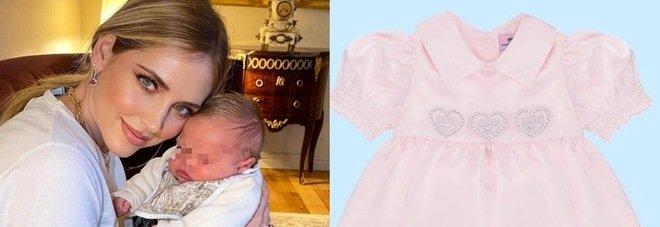 Chiara Ferragni lancia il mini vestito da sera dedicato a Vittoria. Ecco il prezzo da capogiro. Fan increduli: «Che principessa»