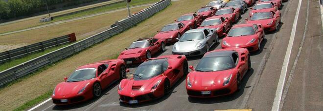 """Ferrari, al Da Vinci Village di Fiumicino il raduno più grande d'Italia. E spazio alla solidarietà con la Onlus """"Insieme per i disabili"""""""
