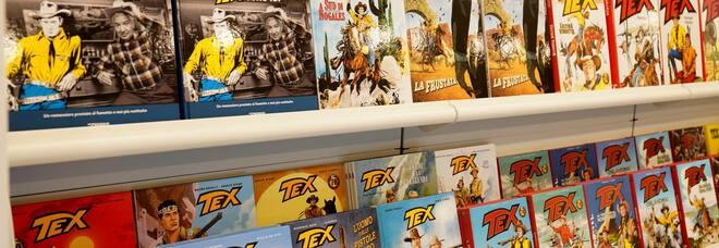 Ha aperto il Bonelli Store: Tex e gli altri. Un fumetto per continuare a sognare