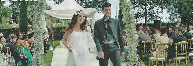 Matrimonio In Tre : Micol olivieri matrimonio col pancione le mie nozze in
