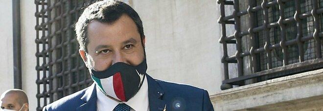 """Coprifuoco, Salvini lancia un sito per dire """"no"""": «Basta un clic, se arriveremo a un milione saremo liberi»"""