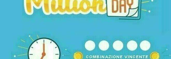 Million Day, estrazione di martedì 7 settembre: i cinque numeri vincenti