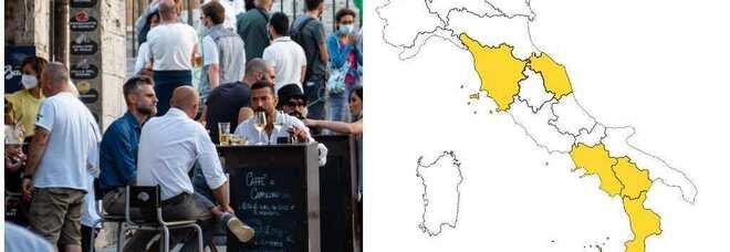 Zona bianca, nuove regole per 40 milioni di italiani: ecco cosa cambia
