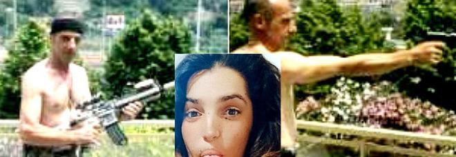 Femminicidio a Ventimiglia, sui social le foto del killer con le armi. La mamma di Sharon: «Non mi do pace»