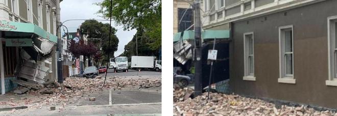 Terremoto a Melbourne, panico e crolli per il sisma di magnitudo 6