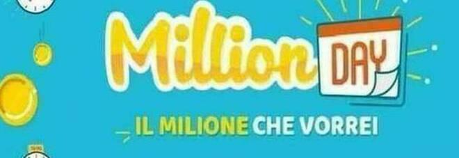 Million Day, i cinque numeri vincenti di oggi martedì 17 novembre 2020