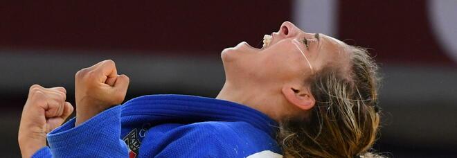 Tokyo 2020, Odette Giuffrida vince il bronzo nel Judo. Per la romana un podio bis dopo l'argento di Rio