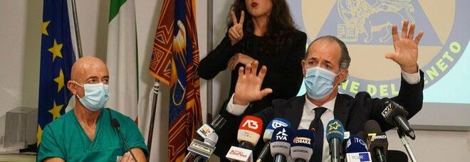 Covid, in Veneto oggi 2.956 contagi e 31 morti. Zaia: «Bene il dato terapie intensive»