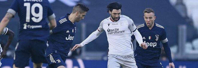 Juve-Bologna 2-0: Arthur e McKennie fanno sorridere Pirlo. Bianconeri quarti in classifica