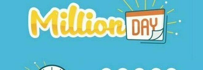 Million Day, i numeri vincenti di domenica 18 ottobre 2020