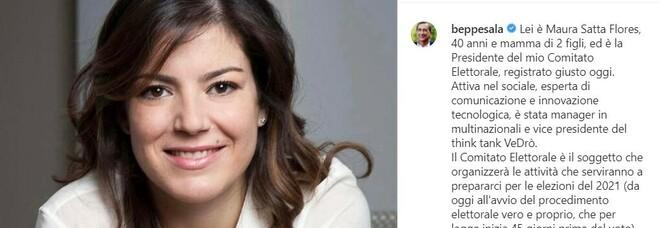 Elezioni comunali Milano 2021, nasce il comitato elettorale di Beppe Sala: lo presiede Maura Satta Flores