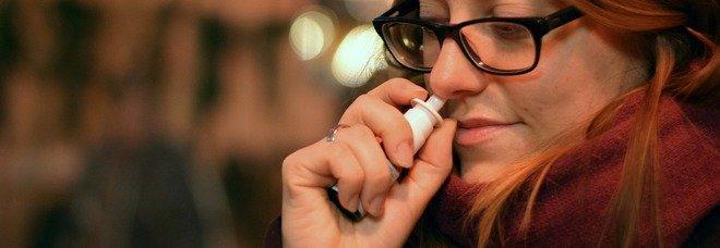 Uno spray nasale protegge dal Covid: in commercio entro l'estate