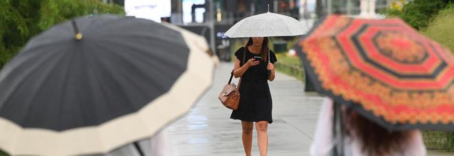 Maltempo: forti temporali nel weekend, l'allerta gialla della Protezione civile ECCO DOVE