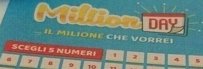 MillionDay, i cinque numeri vincenti di domenica 25 aprile 2021