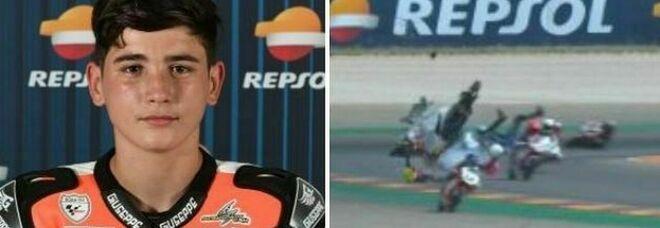 Moto, muore il baby pilota 14 enne Hugo Millan: investito in gara da un altro pilota