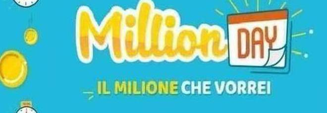Million Day, i numeri vincenti di sabato 16 maggio 2020