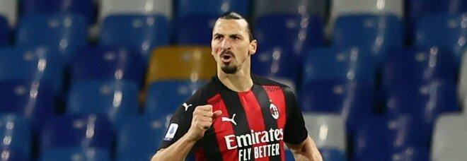 La legge di Ibrahimovic. Il Milan batte il Napoli e resta primo