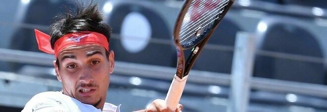 Sonego batte Rublev e vola in semifinale agli Internazionionali di Tennis al Foro Italico