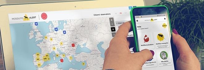 Ecco Mosquito app, il morso di zanzara si fotografa per mappare i virus