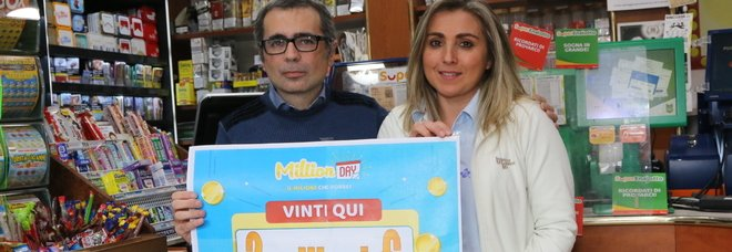 Million Day, maxi vincita: gioca due euro e vince due milioni