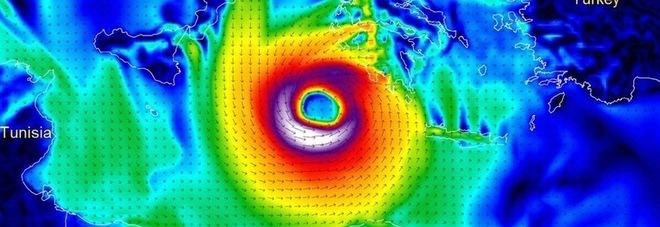 L'uragano «Medicane» sta arrivando, l'Italia trema: «La più grande tempesta di sempre del Mediterraneo»