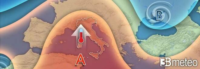 Meteo, arriva anticiclone africano: caldo come a maggio su tutta Italia, ma nel weekend peggiora PREVISIONI