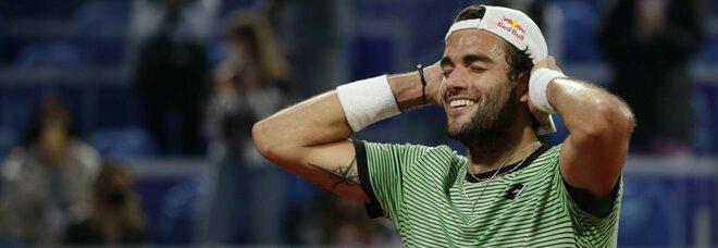 Berrettini show a Belgrado: battuto Karatsev, quarto titolo in carriera per il tennista romano