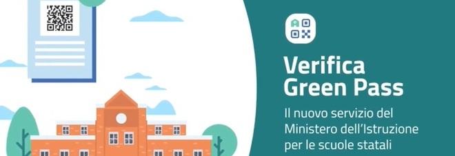 Verifica green pass per la scuola, al debutto la piattaforma vigila-certificati