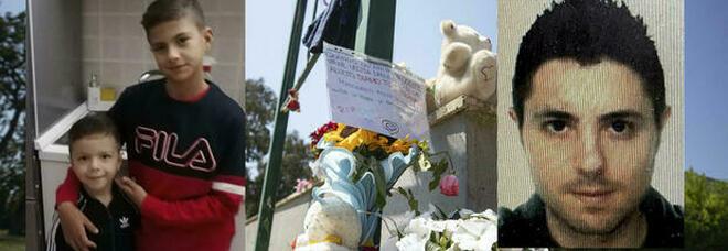 Ardea, la mamma del killer ai genitori dei bimbi uccisi: «Sconvolta per il gesto folle, mi unisco al vostro dolore». Oggi i funerali di Daniel e David