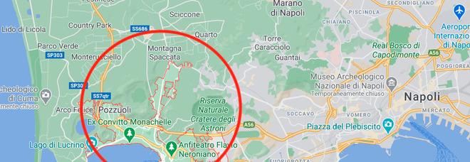 Terremoto a Napoli e Pozzuoli, scossa di magnitudo 1.8. Paura tra la gente: «Ci mancava solo questo»