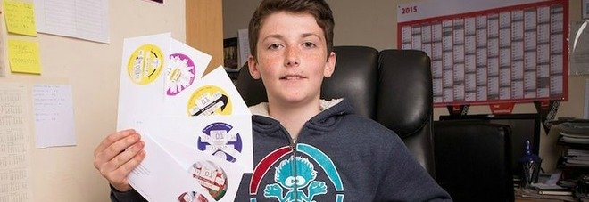 Baby imprenditore ricco a 14 anni: ha guadagnato 2 milioni di euro